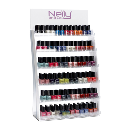 Nail polish countertop display
