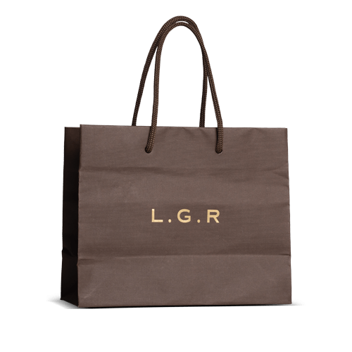 Imitlin paper shopper bag